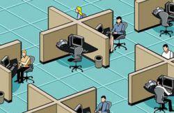 Коворкинг: фрилансер ищет офис