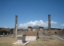 Режим ЧП введен в итальянском городе Помпеи