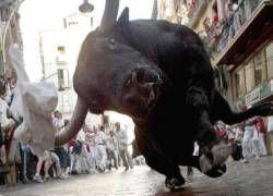 В Памплоне начались бега быков