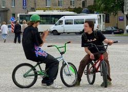 Сибирские велосипедисты протестуют против произвола ГИБДД