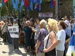 Украинская милиция снесла палаточный городок демонстрантов