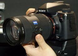 24-мегапиксельная камера Sony Alpha  A900 будет стоить меньше $2000