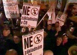 Акция протеста против ПРО прошла в Праге