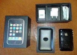 Распакован первый iPhone 3G