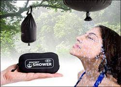 Летний гаджет: карманный душ