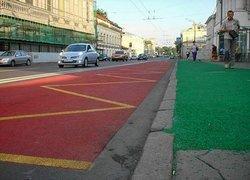 Московские власти раскрасят асфальт