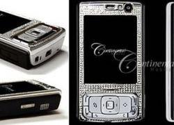 Nokia N95 украсили бриллиантами