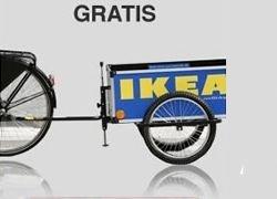 В Дании IKEA дает велосипеды на прокат для доставки мебели