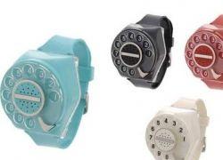 Часы с телефонным диском вместо циферблата