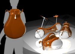 Backpack - переносной велосипед