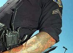 В полиции американского города запретили татуировки
