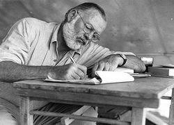 5 уроков написания текста от Эрнеста Хемингуэя