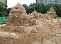 В Москве открылся Международный фестиваль песчаных скульптур