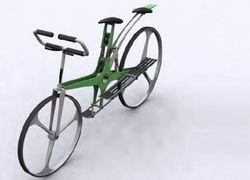 DUO - концептуальный двухместный велосипед