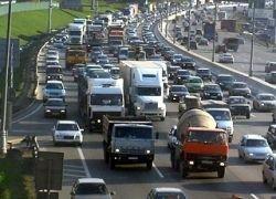 Москва встала в пробках: их общая протяженность более 500 км