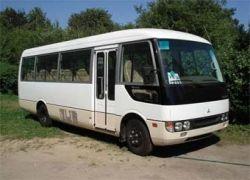 В Днепропетровске перевернулся автобус с 36 пассажирами