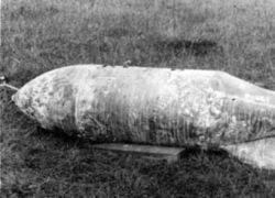 На картах в Британии отметили места расположения немецких бомб