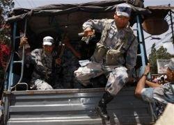 В Непале полицейские взяли в заложники офицеров командования
