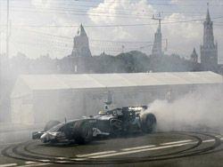 Автошоу Moscow City Racing с участием «Формулы-1»