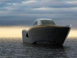 Яхта Ворон - проект Маэля Оберкампфа