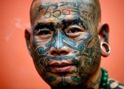 Пекинец наколол 200 татуировок в честь Олимпиады