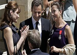 Ингрид Бетанкур вручен Орден Почетного легиона
