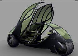 Автомобили будущего приобретают черты насекомых