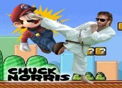 Чак Норис стал героем игры Mario