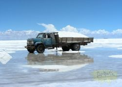 Загадочное соляное озеро Уини