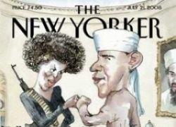 Карикатура на Барака Обаму вызвала скандал в США