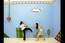 Дизайн комнаты в стиле Nintendo
