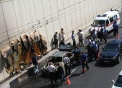 В Москве машина взорвалась из-за лака для волос