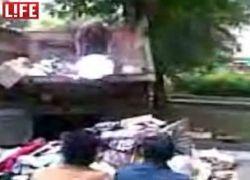 Из квартиры старушки вывезли 8 КамАЗов мусора