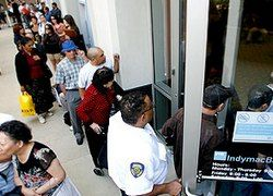 В США вкладчики взяли штурмом банк