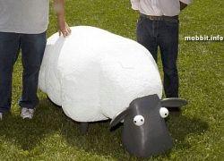 Mower - смешной робот-овечка