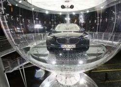 Презентация нового BMW 7-й серии на Красной площади