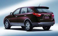 Взрывоопасный Hyundai Veracruz