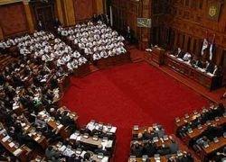 Парламент Сербии не ратифицировал договор с Россией