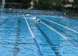 В китайских бассейнах красят воду, чтобы она выглядела чистой
