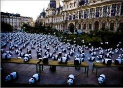 Париж в плену у панд