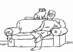 Забавный мультик про кота Симона