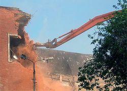 Японцы придумали уничтожение зданий снизу вверх