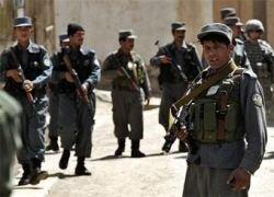Авиация НАТО разбомбила пост афганской полиции