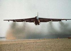Бомбардировщик ВВС США В-52 разбился сегодня у острова Гуам