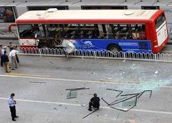 В Китае взорваны автобусы: двое погибших, 14 раненых