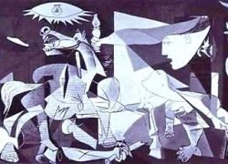 """Знаменитая картина Пикассо \""""Герника\"""" находится в критическом состоянии"""