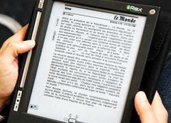 Во Франции тестируется электронная газета