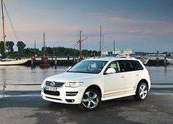VW построил в единственном экземпляре особую версию Touareg