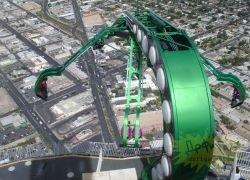 Х-Scream – самый экстремальный аттракцион Лас-Вегаса