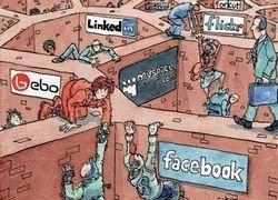 Социальные сети на мобильном - все еще впереди